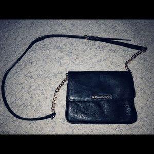 Michael Kors cross body black purse